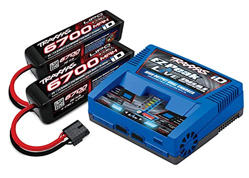 Traxxas 2997 - Power Cell 8S 14.8V LiPo Battery / Dual iD Charger Completer Pack