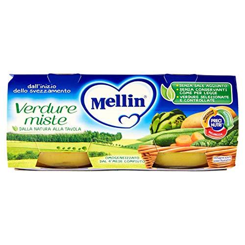 Mellin Omogeneizzato Verdure Miste - 24x80 g