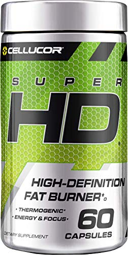 Cellucor SuperHD Weight Loss Capsules | Supplement for Men & Women With Nootropic Focus Plus 160mg Caffeine | 60 Capsules