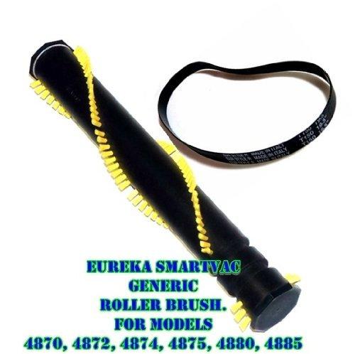 Eureka SmartVac Roller Brush and R Belt Kit For Models 4870AT, 4870ATV, 4870BT, 4870DT,4870 GZ, 4870HZ, 4870K, 4870MZ, 4870PZ, 4870RZ, 4870SZX, 4870T, 4870UZ, 4872AT, 4872BT, 4874AT, 4875A, 4880AT, 48