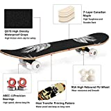 Zoom IMG-1 huaduo skateboard completo per principianti