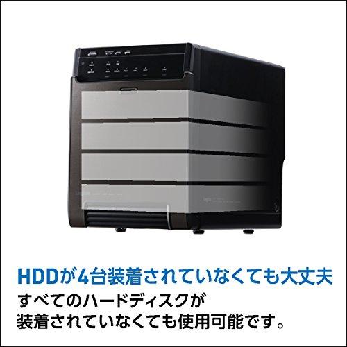 LogitecHDDケース3.5インチ(HDD4台用)USB3.1(Gen1)/USB3.0+eSATA接続ガチャベイLHR-4BNHEU3[macOSBigSur11.0対応確認済]