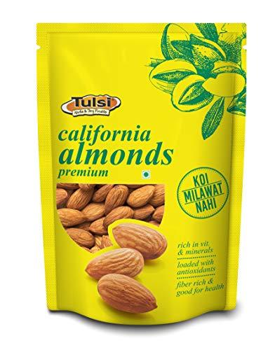 Tulsi Nuts & Dry Fruits Raw California Almonds Premium 200g