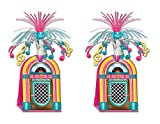 Beistle , 2 Piece Jukebox Centerpieces, 15''