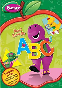 DVD Barney: Now I Know My ABC's Book