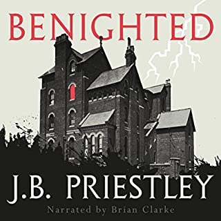 Benighted audiobook cover art