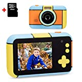 omzer Kids Camera for Boys Girls, Compact 1080p HD Kids Camcorder with 2.4 Inch...