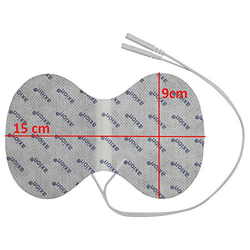 Elektroden-Set gegen Rückenschmerzen. Für TENS-Therapie gegen Beschwerden an Rücken, Nacken & Schultern - 6