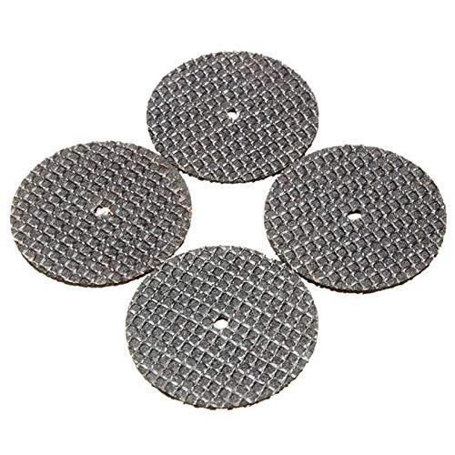 25 piezas/set de cuchillas de corte de metal para ruedas giratorias de la sierra circular de la herramienta de la molinilla de dremel con 1 accesorio de mandril (Size : A)