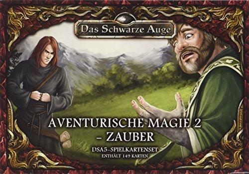 DSA5 Spielkartenset Aventurische Magie 2 Zauber (Das Schwarze Auge - Zubehör)
