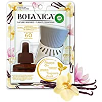 Botanica by Air Wick Plug in Scented Oil Starter Kit, 1 Warmer + 1 Refill