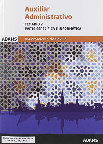 Temario 2 (perte específica e informática) Auxiliar Administrativo Ayuntamiento de Sevilla