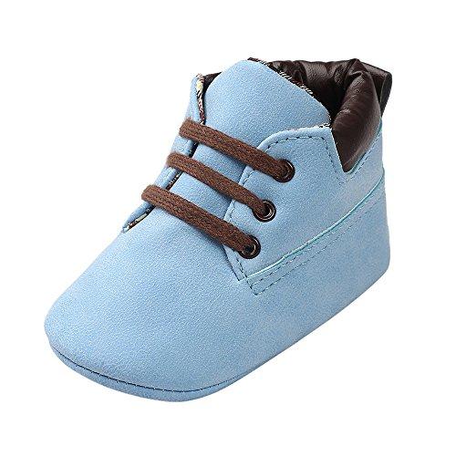 TeasyDay Lederschuhe Babys, Säuglingsjungen-Mädchen-weiche Sohlenkrippe-Schuhe, Kleinkind Pre Walker Schuhe Schulschuhe