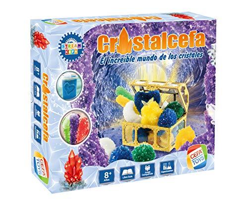 Cefa Toys, Multicolor Juego Cristalcefa ¡el Increible Mundo De Los Cristales, (21838), Unisex niños, estandar
