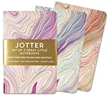 Jotter Mini Notebooks for Bullet Journaling -- Agate (3-Pack) (Interior Dot-Grid Pattern)