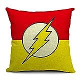 CHICOZY Flash Man Home Decor Throw Pillow Cover Decorative Pillow Cushion 1818 CCF-036