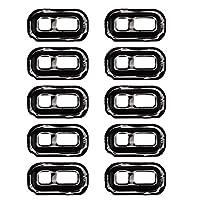 Fulvit for. スペアパーツギャラクシーS7 / G930&S7エッジ/ G935懐中電灯カバーのための10 PCS