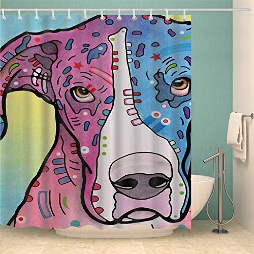 Dog Is Love Shower Curtain