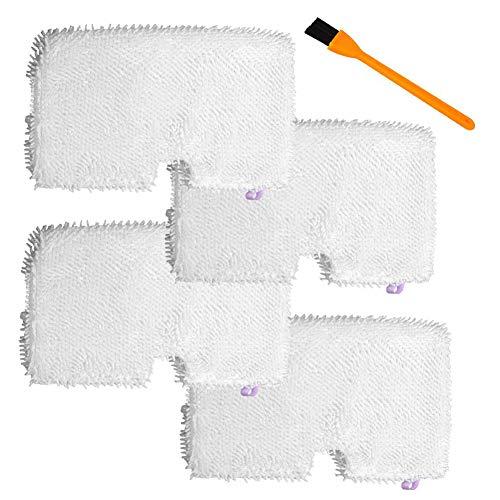 Honfa 4Pack waschbare Reinigungspads aus Mikrofaser Ersatz für Shark Steam Pocket Mops S3500Series, S3501, S3601, S3550, S3901, S3801, SE450, weiß