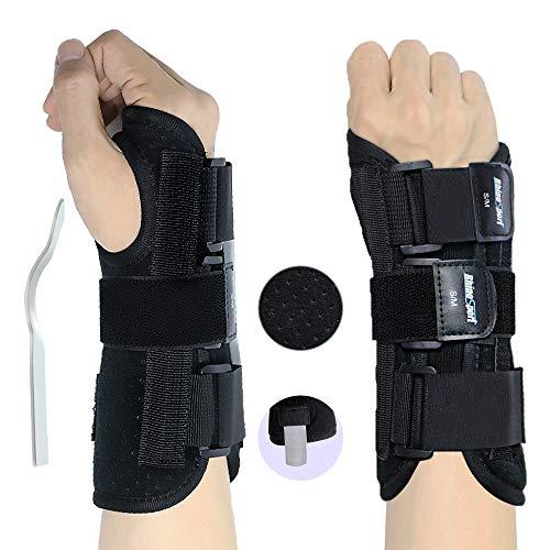 RHINOSPORT Handgelenk Bandagen Wrist Wraps Handgelenkbandage für Fitness, Bodybuilding, Kraftsport & Crossfit für Frauen und Männer Handgelenkschoner Handgelenkstütze