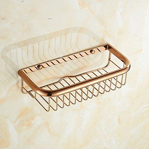 XBR salle de bains étagère corner - cuivre cuivre double triangle panier panier toilettes, toilettes