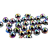 3D Resin Nail Art Decoration Slice Multicolored Stickers Decal