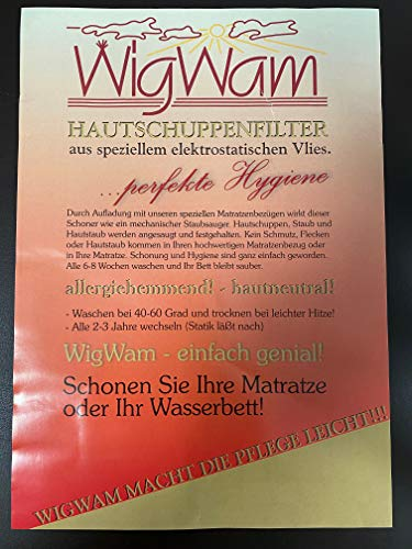 Wigwam Hautschuppenfilter King (180-200x200)