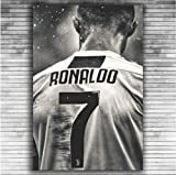 DPFRY Leinwand Gemälde Cristiano Ronaldo Sport Fußball