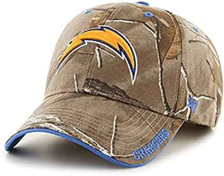 San Diego Chargers 47 Brand Realtree Camo Frost MVP Adjustable Velcro Hat Cap