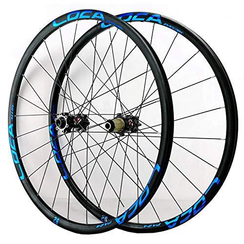 ZFF MTB Set di Ruote 26/27,5/29 Pollici Perno Passante Anteriore & Posteriore Ruota Alluminio Freno A Disco 24 Ore 8/9/10/11/12 velocità Volan (Size : 26in)