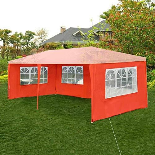 ZFLL outdoor tent Oxford doek partij tent muur zijkanten waterdichte tuin patio outdoor luifel 3x6m zon muur zonwering Tarp zijwand zonnescherm