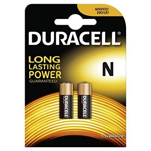 Batterie Duracell Security Typ N 2er Blister, Alkaline, 1,5V