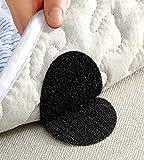 Alfombrilla de agarre para sofá colchón, azulejos, suelo de madera, alfombra de baño, mármol, antideslizante alfombra de agarre de alfombra de doble cara clip autoadhesivo