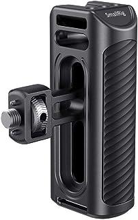 SMALLRIG Aluminum Side Handle Manija Lateral Compatible con Orificio de Localización Arri para Cage de Cámara - HSS2426