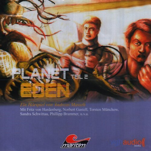 Planet Eden 2 audiobook cover art
