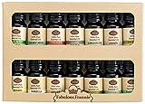 Spice Rack Kit Includes Basil Sweet, Celery Seed, Cinnamon, Clove, Coriander, Cumin, Dill Weed, Fennel, Vanilla, Ginger, Nutmeg, Oregano, Parsley Seed, Tumeric Pure Therapeutic Essential Oils