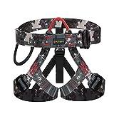 WILDKEN Arnés Seguridad para Escalada Protección de Caída Cintura Cadera Cinturón de Seguridad de Protección Guías de Montaña al Aire Libre Escalada para Alpina Bomberos
