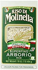 Specially for Italian risotto High quality rice Product of Italy Safety Warning: This Product Is Labelled To United States Standards And May Differ From Similar Products Sold Elsewhere In Its Ingredients, Labeling And Allergen Warnings