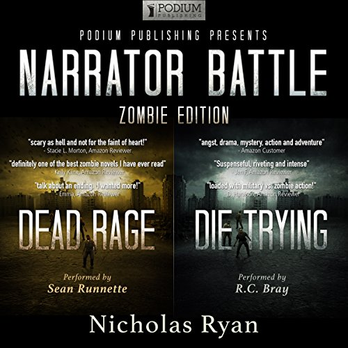 Narrator Battle: Zombie Edition audiobook cover art
