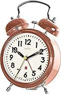 Acctim 15598 Rover Double Bell Alarm Clock in Copper