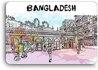 Giftcart Bangladesh Watercolor Fridge Magnet 6 x 9 cm Multicolor
