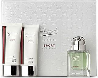 Gucci Gucci by Gucci Sport Pour Homme Set de Regalo 50ml EDT + 50ml Gel de ducha + 50ml Aftershave B