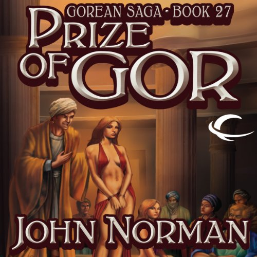 Prize of Gor audiobook cover art