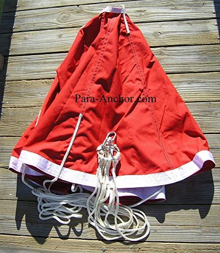 Fiorentino 6' (72') Drift Anchor, Trolling Sea Anchor, Sea Brake, Drift Fishing Sock, Designed to...
