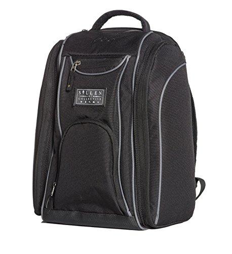 Sullen Men's Blaq Paq Drone Backpack Bag Black