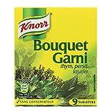 Knorr Bouquet Garni Thym Persil Laurier par 9 Tablettes 99g (lot de 6)