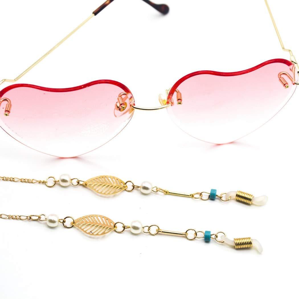 Ursumy Regular dealer Vintage Eyeglasses Necklace Sunglasses Strap Pearl Bargain sale Holder