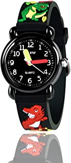 Ouwen Unique Design 3D Cute Cartoon Kids Waterproof Watch-Best Gifts