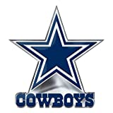 Team Promark NFL Dallas Cowboys Alternative Color Logo Emblem, Blue, 4