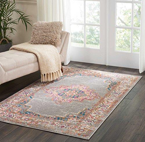 Marca de Amazon - Movian Vacha, alfombra rectangular, 221 de largo x 160 cm de ancho (diseño geométrico)